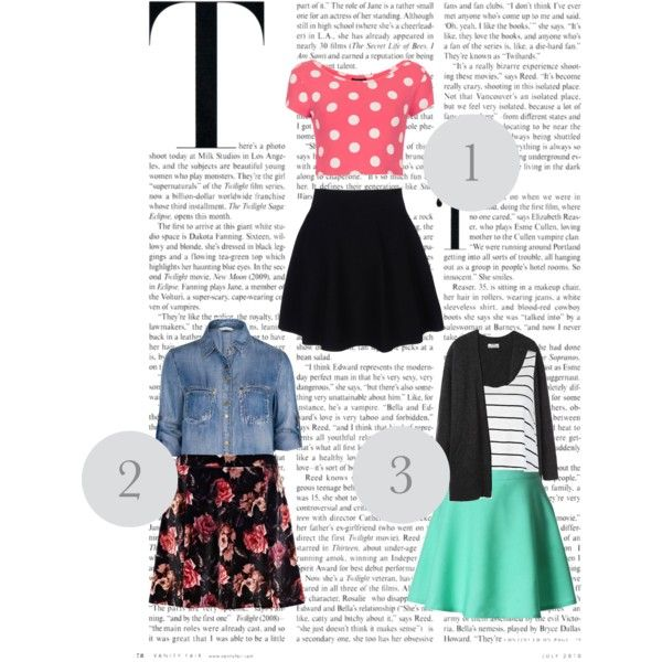 skater skirts for back-to-school and the end of summer! Super cute and easier to style than you think!