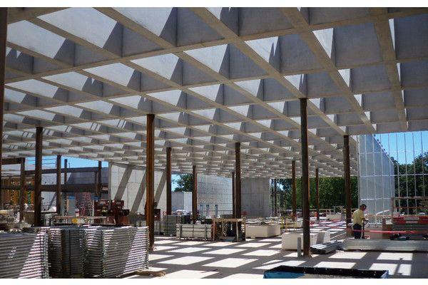 Saint Louis Art Museum Features Unique Concrete Elements Architecture Concrete Modern Architecture