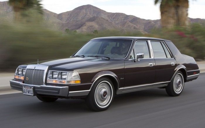 1986 Lincoln Continental Givenchy Lincoln Continental Lincoln Cars Lincoln Town Car