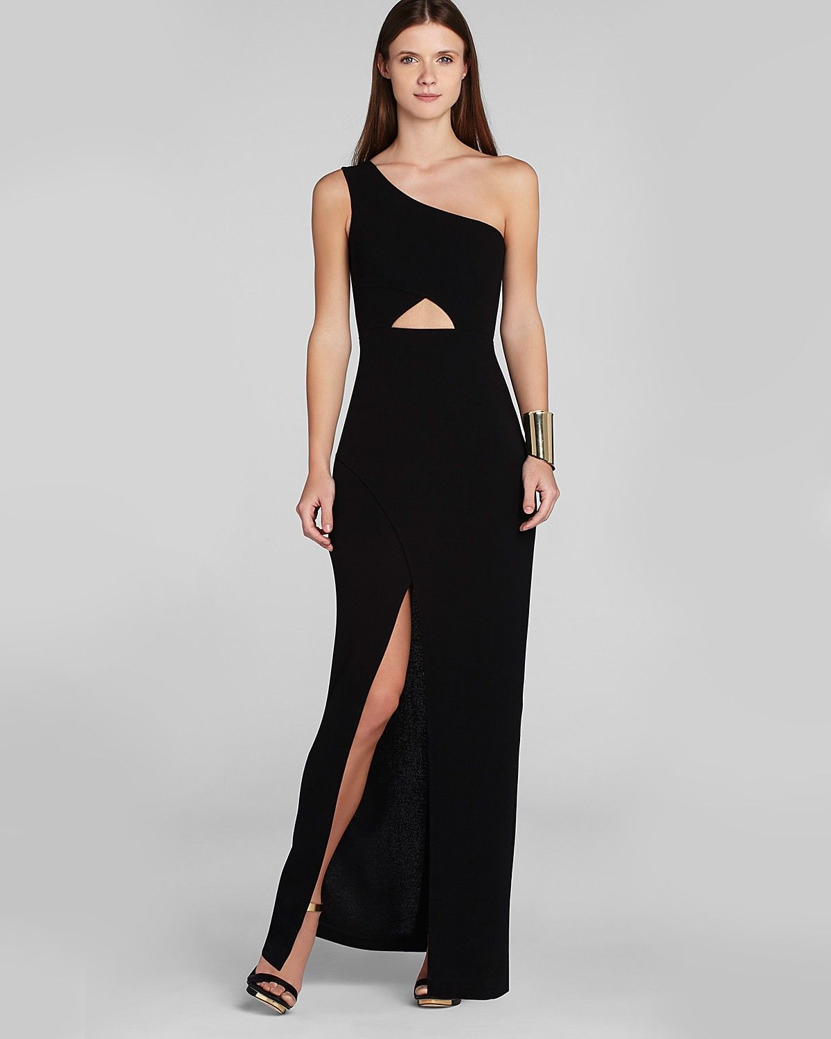 152c9abe4 BCBGMAXAZRIA Gown - Kauri One Shoulder Cutout