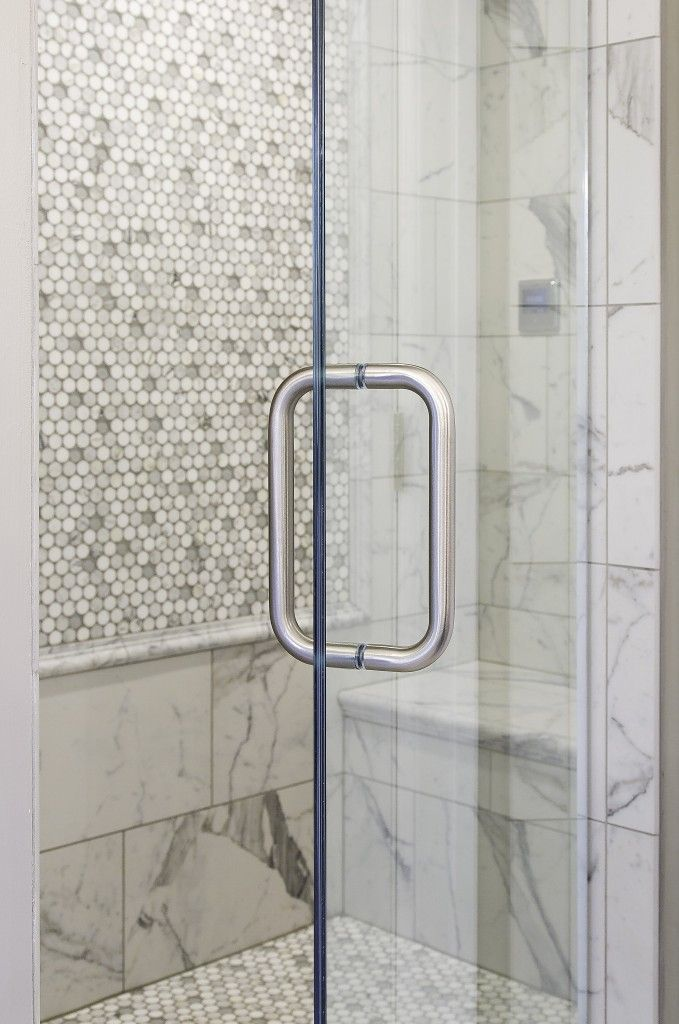 Lovely Tile: Classic Honed 12x24 Color: Statuarietto; Accent: Statuary,Thassos,  Carrara. Circle ChairCustom GlassShower DoorsCarraraWisconsinMaster ...