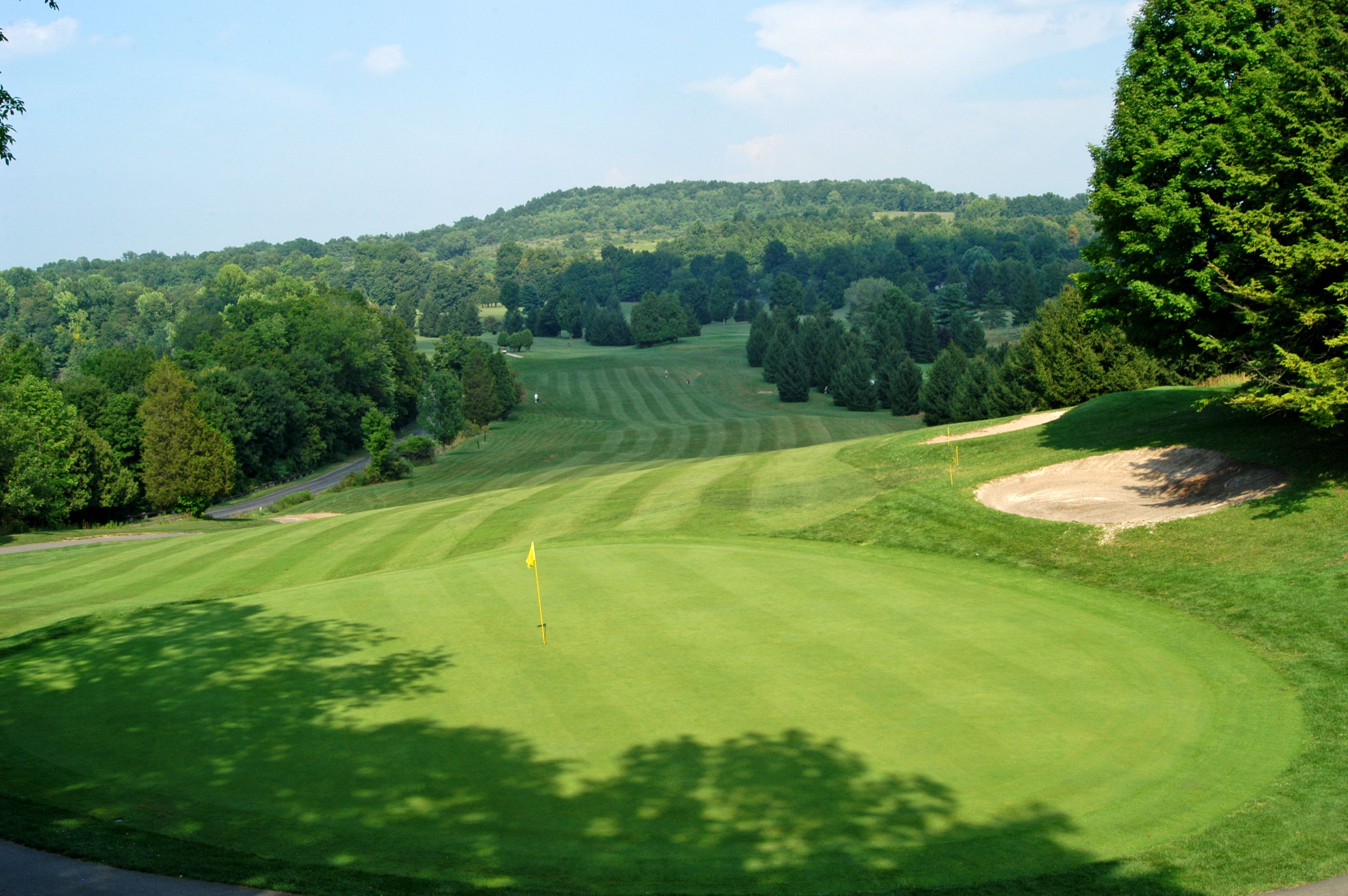 Green Lakes State Park Golf Course This scenic 18 hole course with