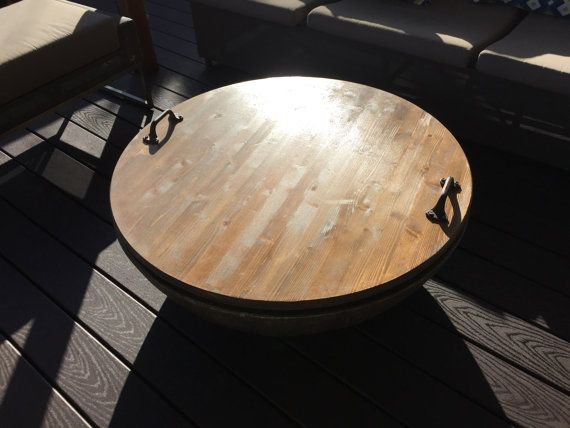 Fire Pit Cover Rustic Fire Pit Cover Distressed Fire Pit Cover Wooden Fire Pit Cover Outdoor Decor Rustic Decor Rustic Fire Pits Wood Fire Pit Fire Pit Cover