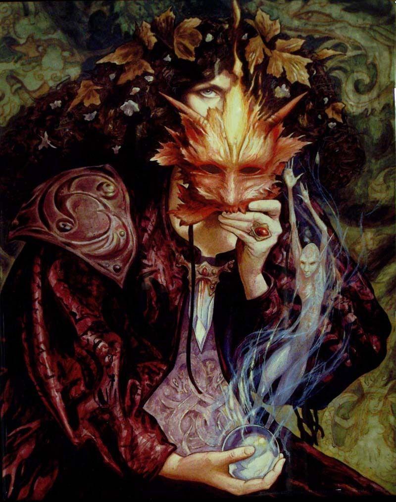 Hestia Fantasy Art Brian Froud Faeries