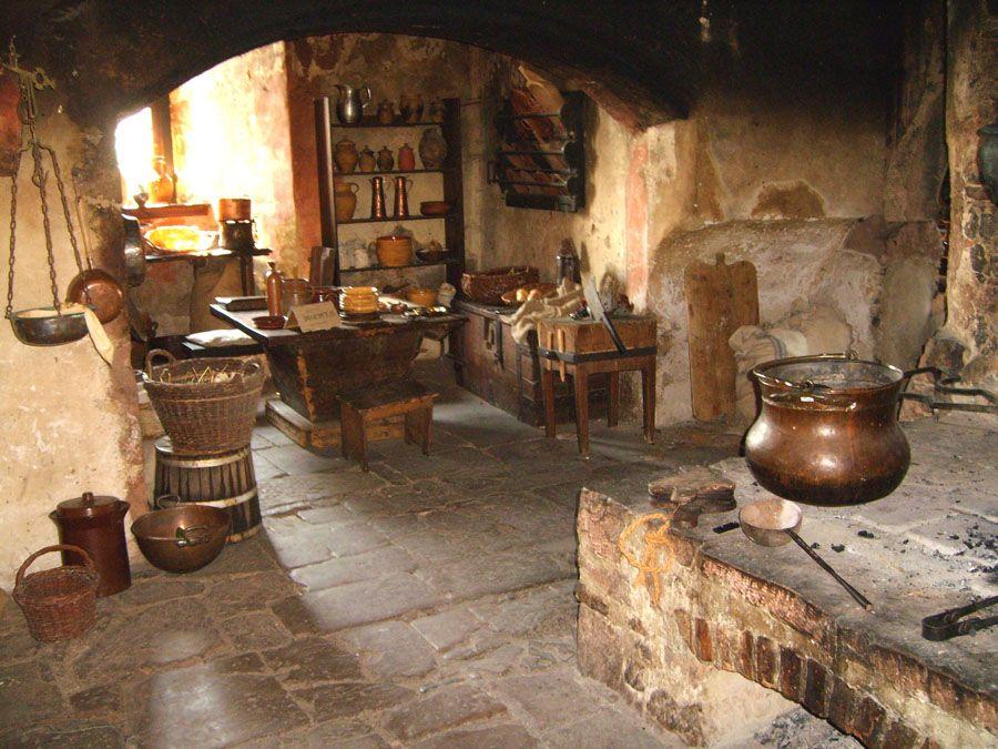Medieval Kitchen Design Ideas ~ Medieval pinterest castles and kitchens