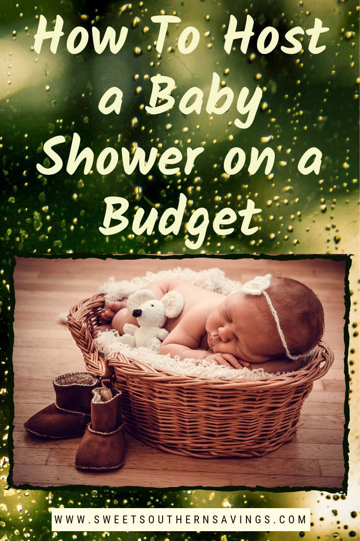 How To Host a Baby Shower on a Budget #partybudgeting
