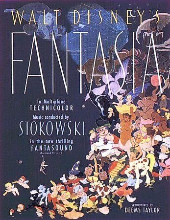 Classic No 3 Fantasia 1940 Fantasia Movie Posters Fantasia Disney