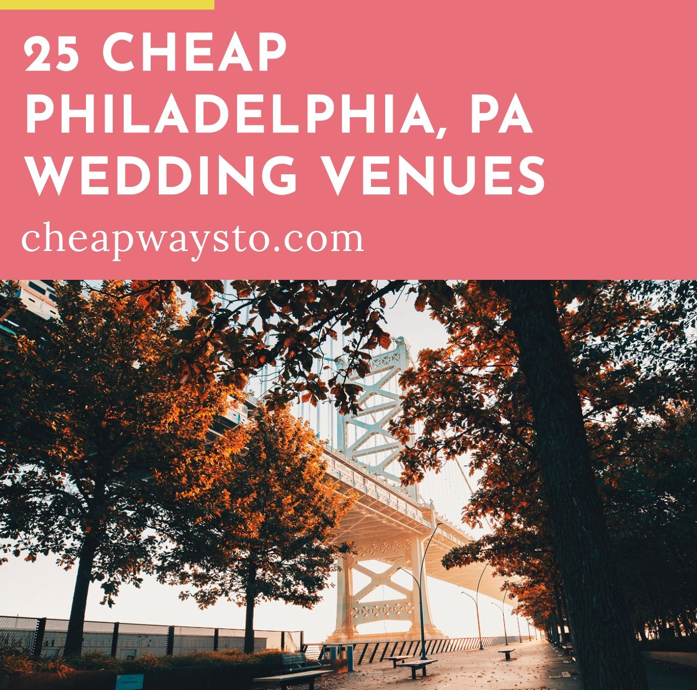 25 Cheap Philadelphia Wedding Venues (With images ...
