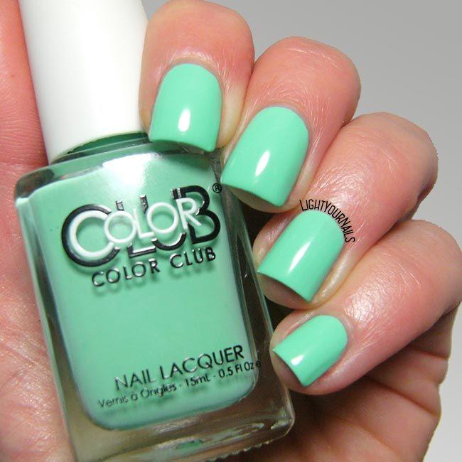 Hermosa Uñas De Color Azul Marino Diseña Foto Embellecimiento ...