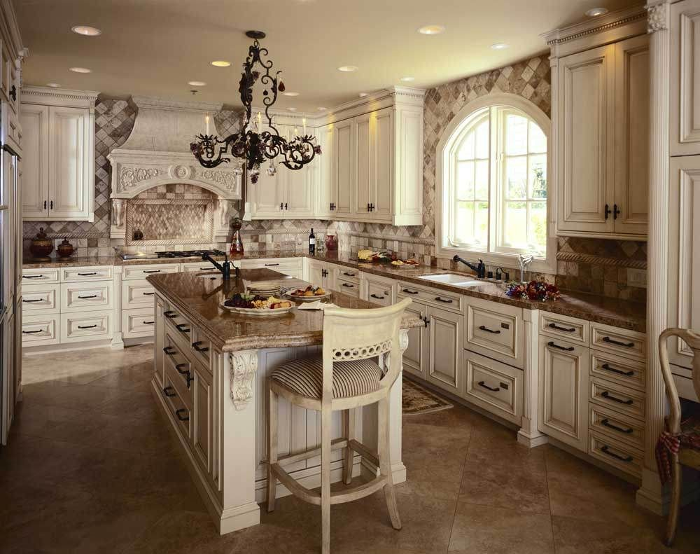 Tuscan Style Kitchen fabulous tuscan style kitchen cabinets in white color for gorgeous