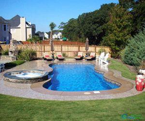 fiberglass pool Dandridge