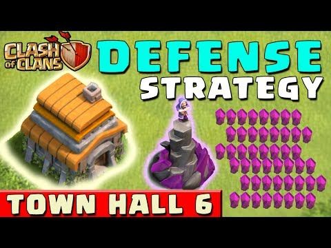 ▷ Clash of Clans - DEFENSE STRATEGY - Townhall Level 6 (CoC
