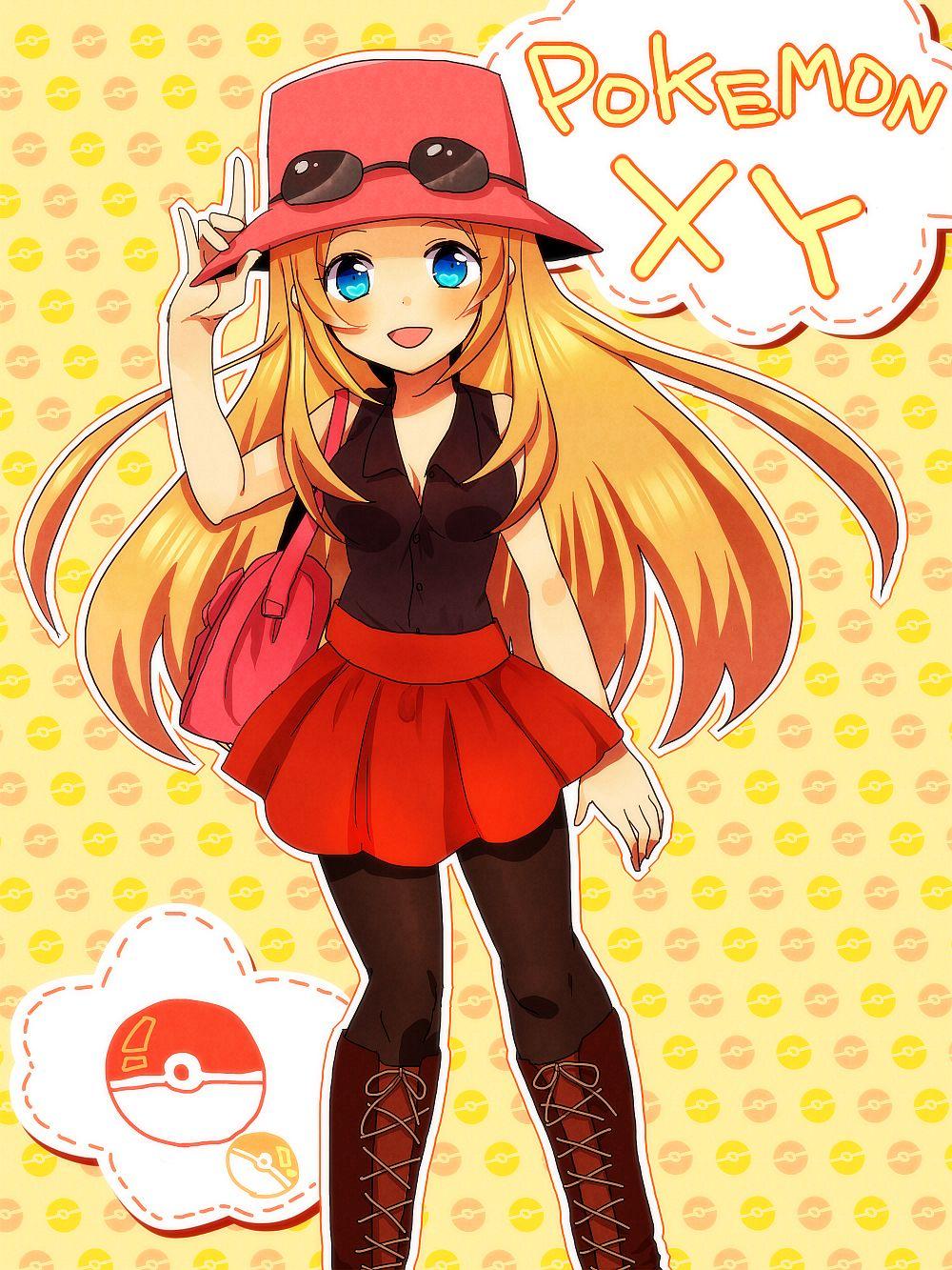 Female Protagonist (Pokémon X Y)