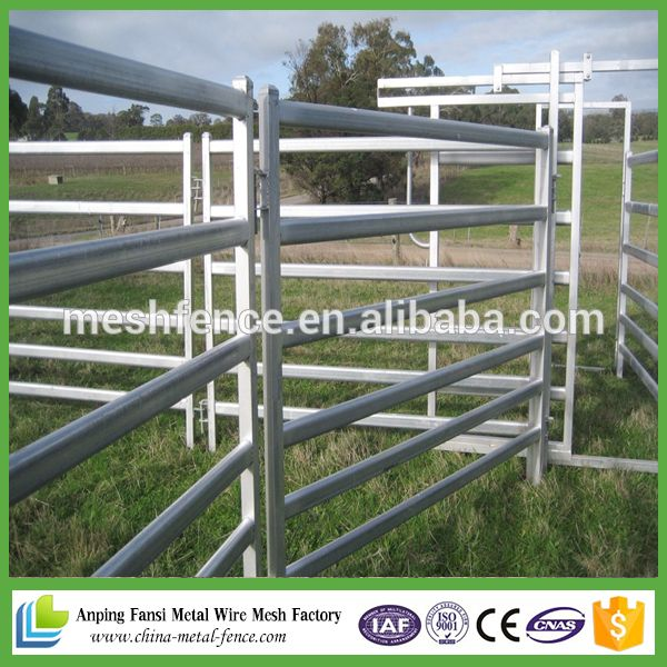 galvanized horse rail fence / cattle fencing panels / boer goats for ...