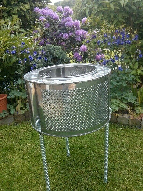 Барабан от стиральной машины можно использовать для дачного сезона