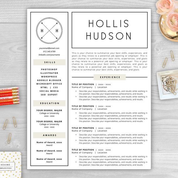 Make your résumé stand out with a beautiful and professional - how to make your resume better