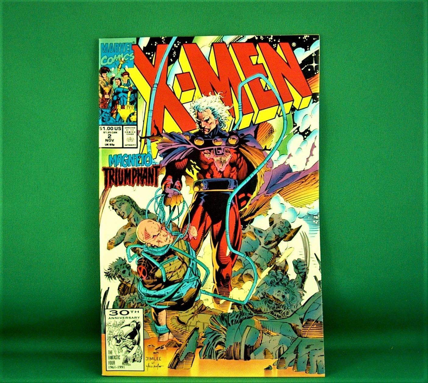 Marvel Comics X Men 2 Magneto Triumphant November 1991 In 2020 Marvel Comics Marvel X Men