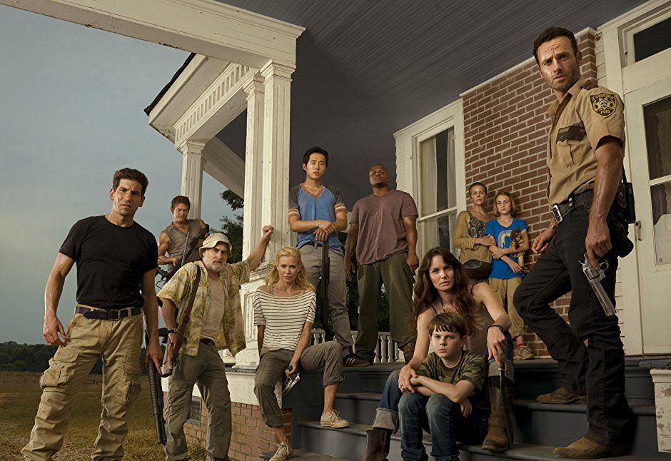 Season 2 The Walking Dead Amc Twd Sorting Walking