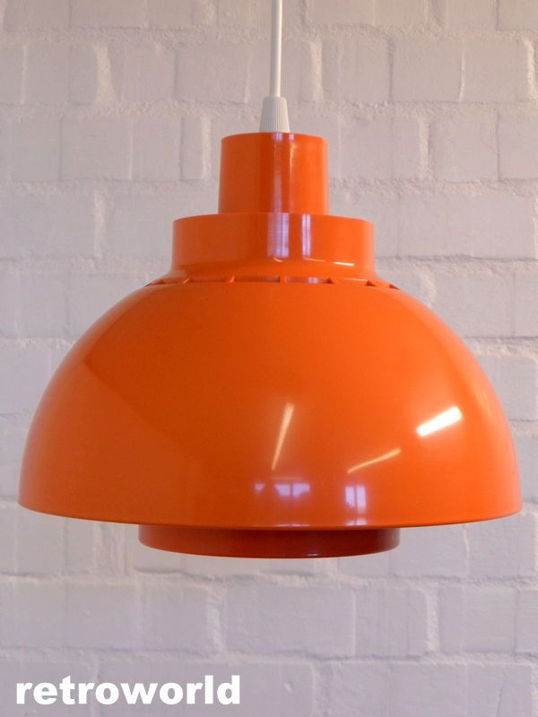 60s 70s #danish mid century retro #vintage pendant light