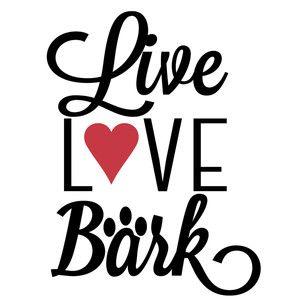 Download Live love bark   Silhouette design, Live love, Photo wall art