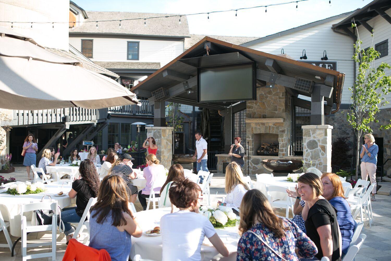 The Mill Plaza at Gardner Village West Jordan Utah Outdoor