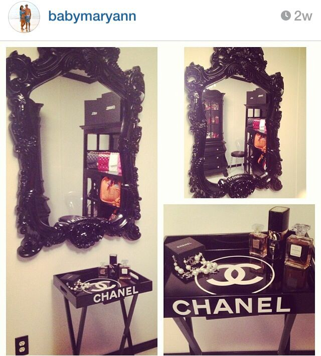 Best Chanel Table Chanel Home Decor Chanel Closet Glam 400 x 300