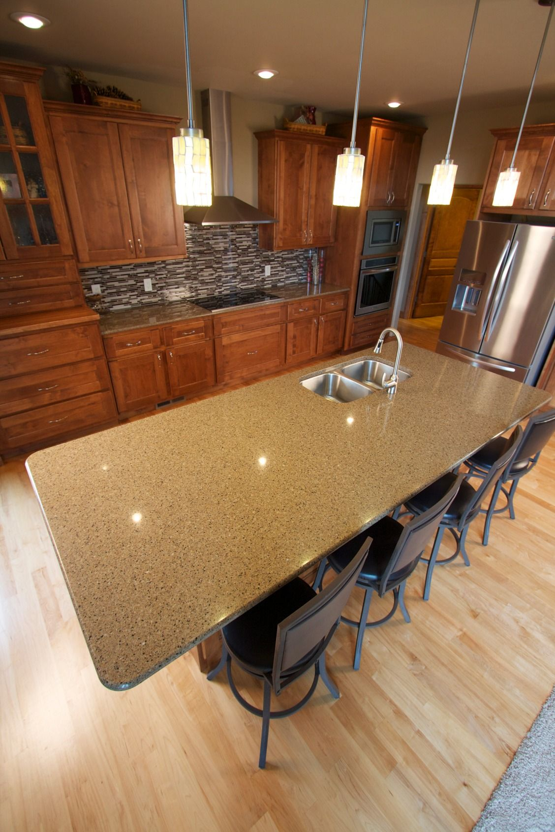 RiverStone™ Maple Canyon Quartz Countertops will enhance your home ...