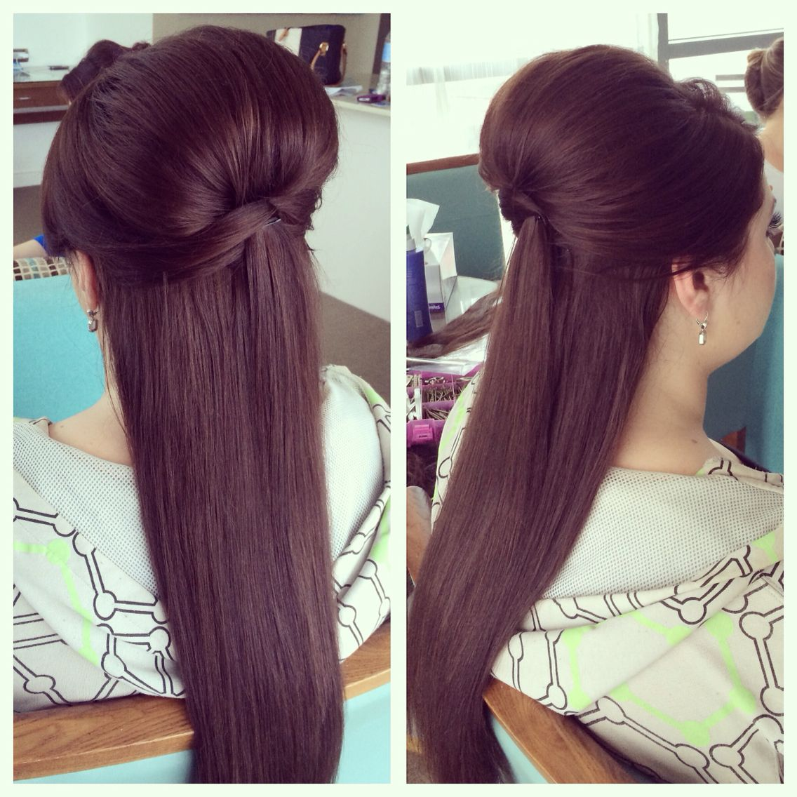 Wedding Hairstyle With Hair Extensions: Wedding Hair Using Clip In Extensions