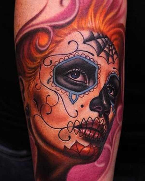 15 geniale la catrina tattoos la catrina tattoos. Black Bedroom Furniture Sets. Home Design Ideas