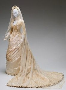 Wedding Dress From The 1800 S So Pretty Victorian Wedding Dress Wedding Gowns Vintage Historical Wedding Dresses