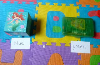 Mom to 2 Posh Lil Divas: Sight Word Fun & Learning to Read: Color and Number Words