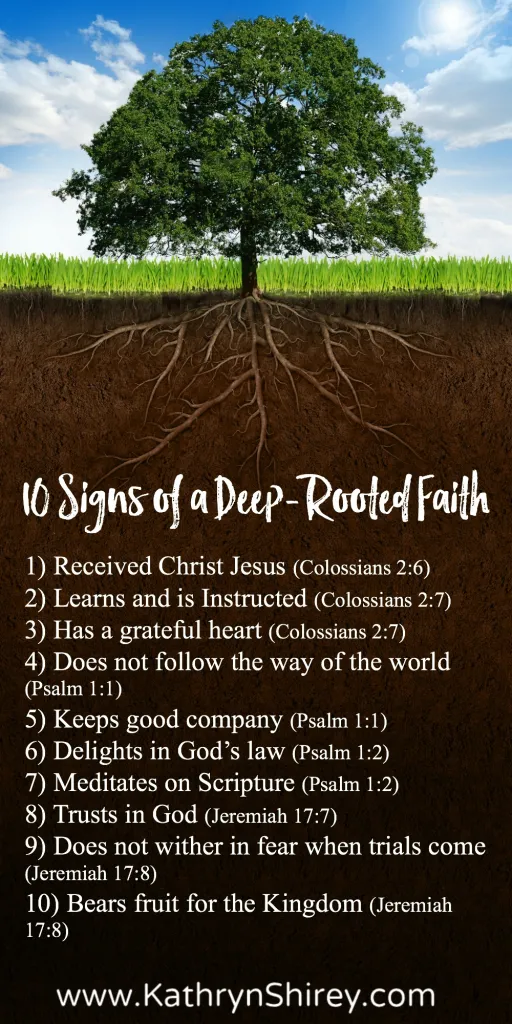 10 Ways to Stay Deeply Rooted In Faith