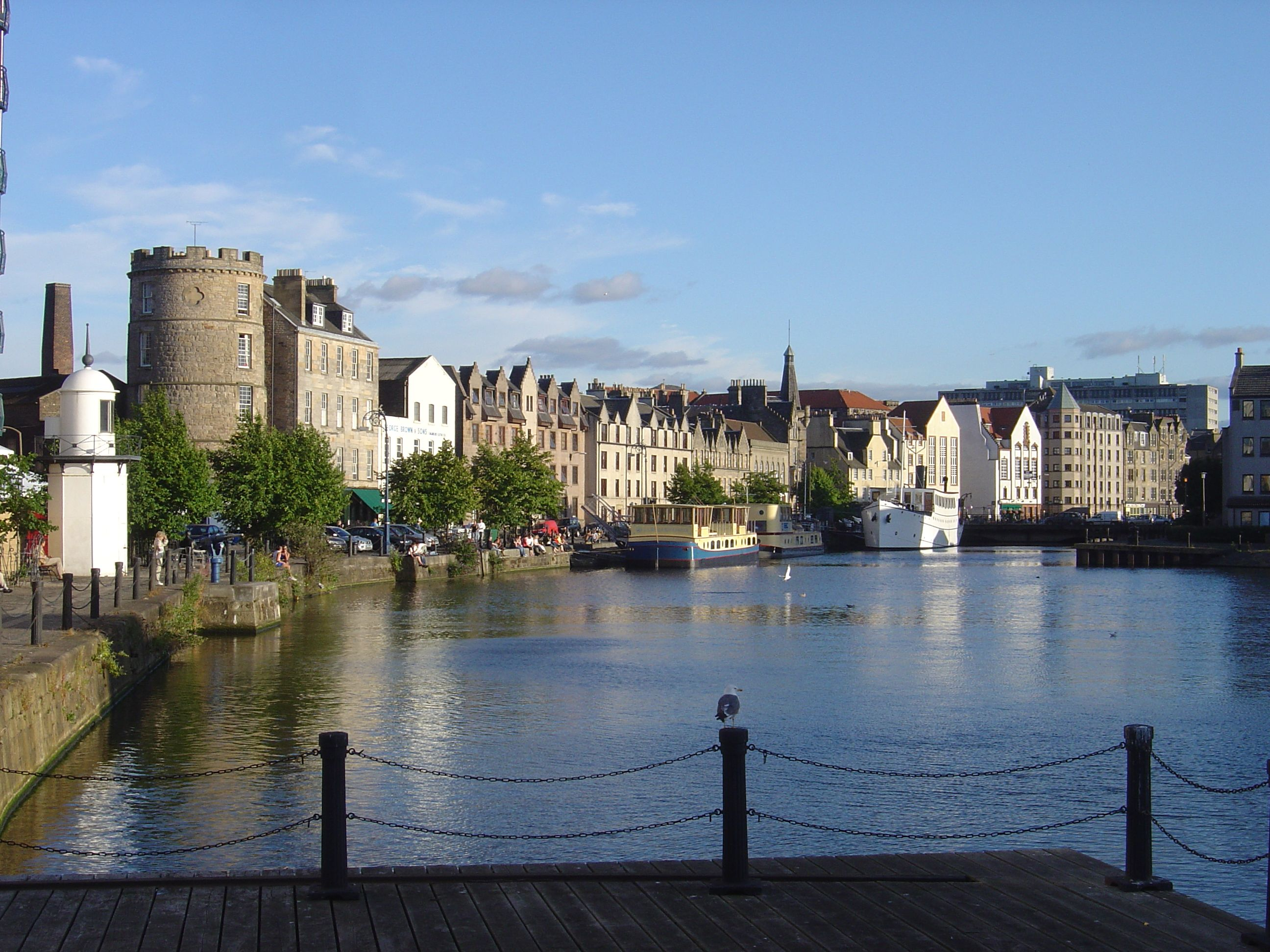 Why Not Step A Short Way Out Of Edinburgh To The Port Leith For Waterside Bars Restaurants And S In This Vibrant District