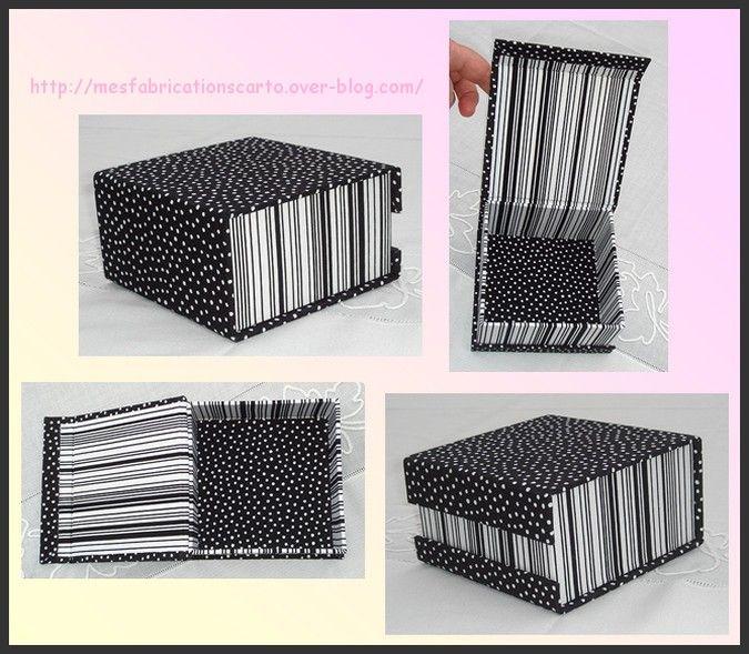 tuto gratuit boite couvercle aimant cartonnage pinterest aimants cartonnage et chelles. Black Bedroom Furniture Sets. Home Design Ideas