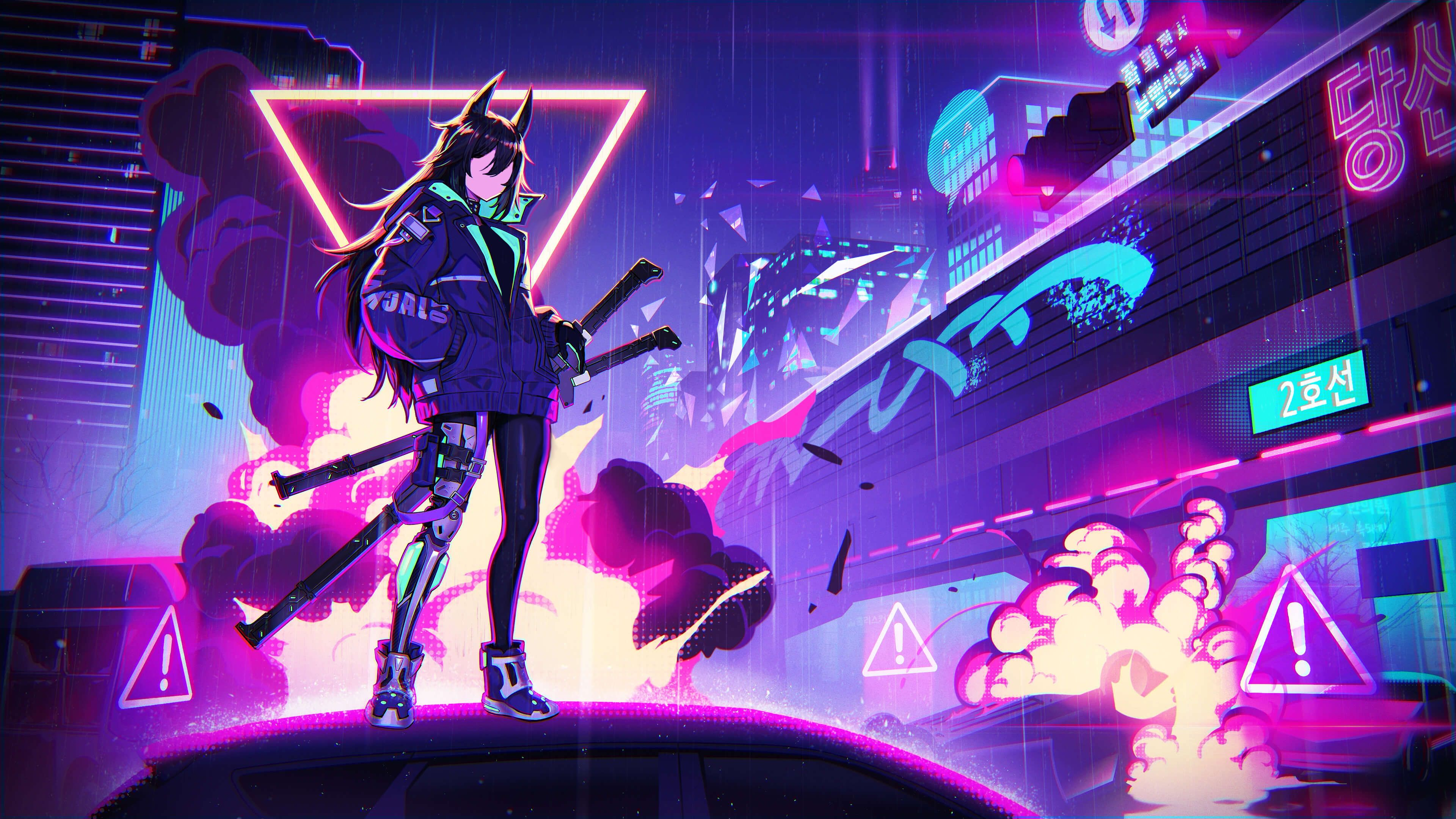 Desktop Background 4k In 2021 Anime Wallpaper 3840x2160 Wallpaper Cyberpunk Anime Anime live wallpaper windows 81