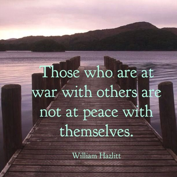 Quotes About Bullies Classy Those Who Are At War With Others Are Not At Peace With Themselves
