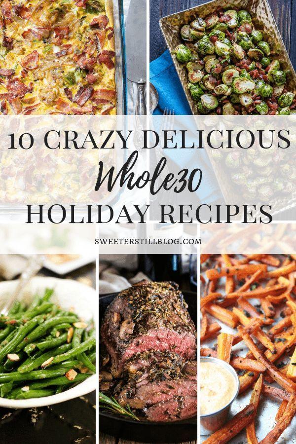 10 Whole30 Holiday Recipes Healthy christmas recipes