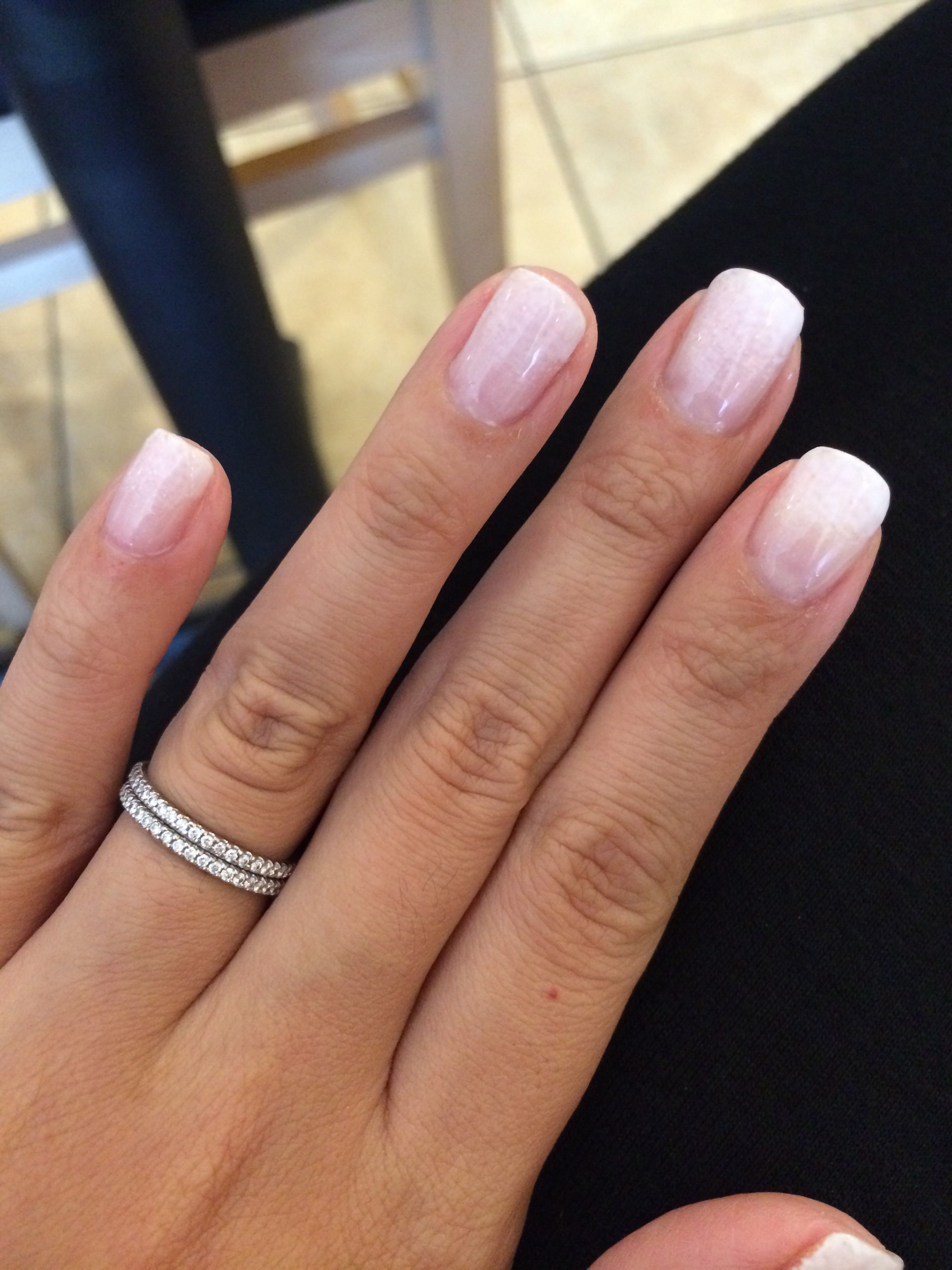 Ombré French manicure | Nails | Pinterest | Manicure, Makeup and ...