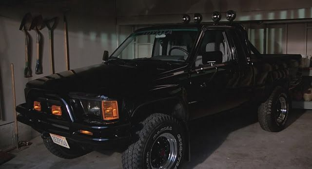 Daily Turismo: 15k: All Waxed Up: 1985 Toyota Hilux 4x4, Back to the Future Replica