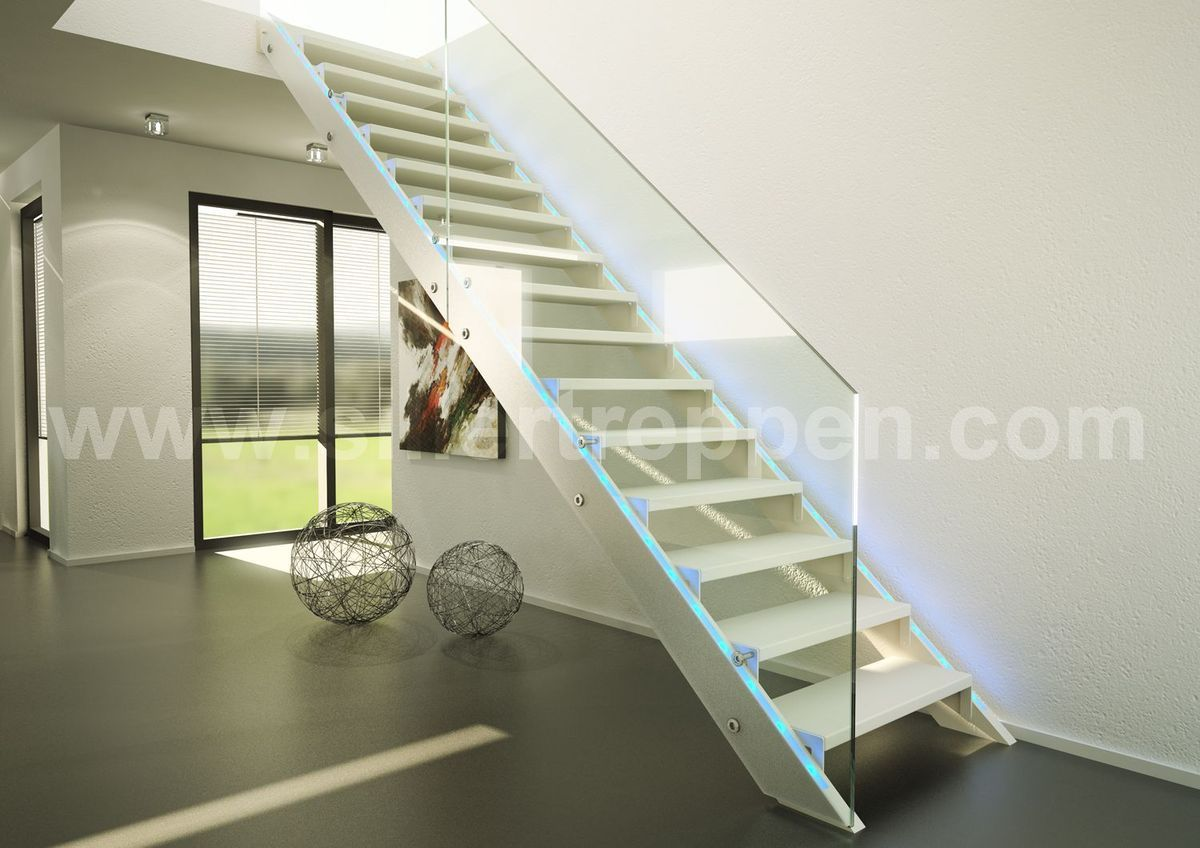 Great Glass Stair Railing #Stair