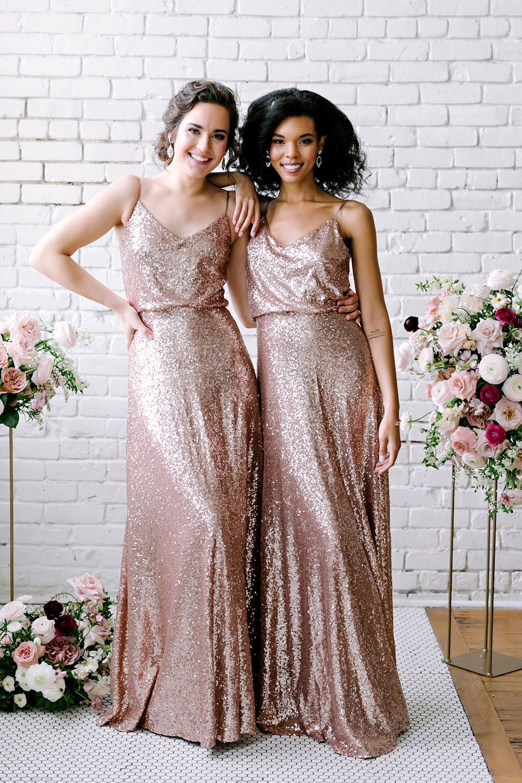 44++ Rose gold sequin bridesmaid dresses ideas info