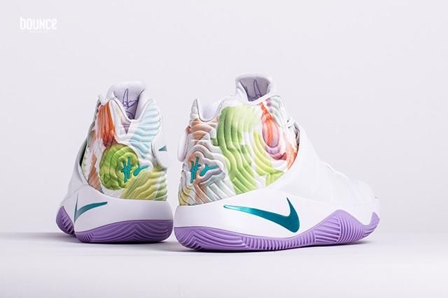 Kyrie Irving's second signature shoe is ready to celebrate Easter this  March 2016 with this special edition colorway featuring a mix of pastel  tones on a ...