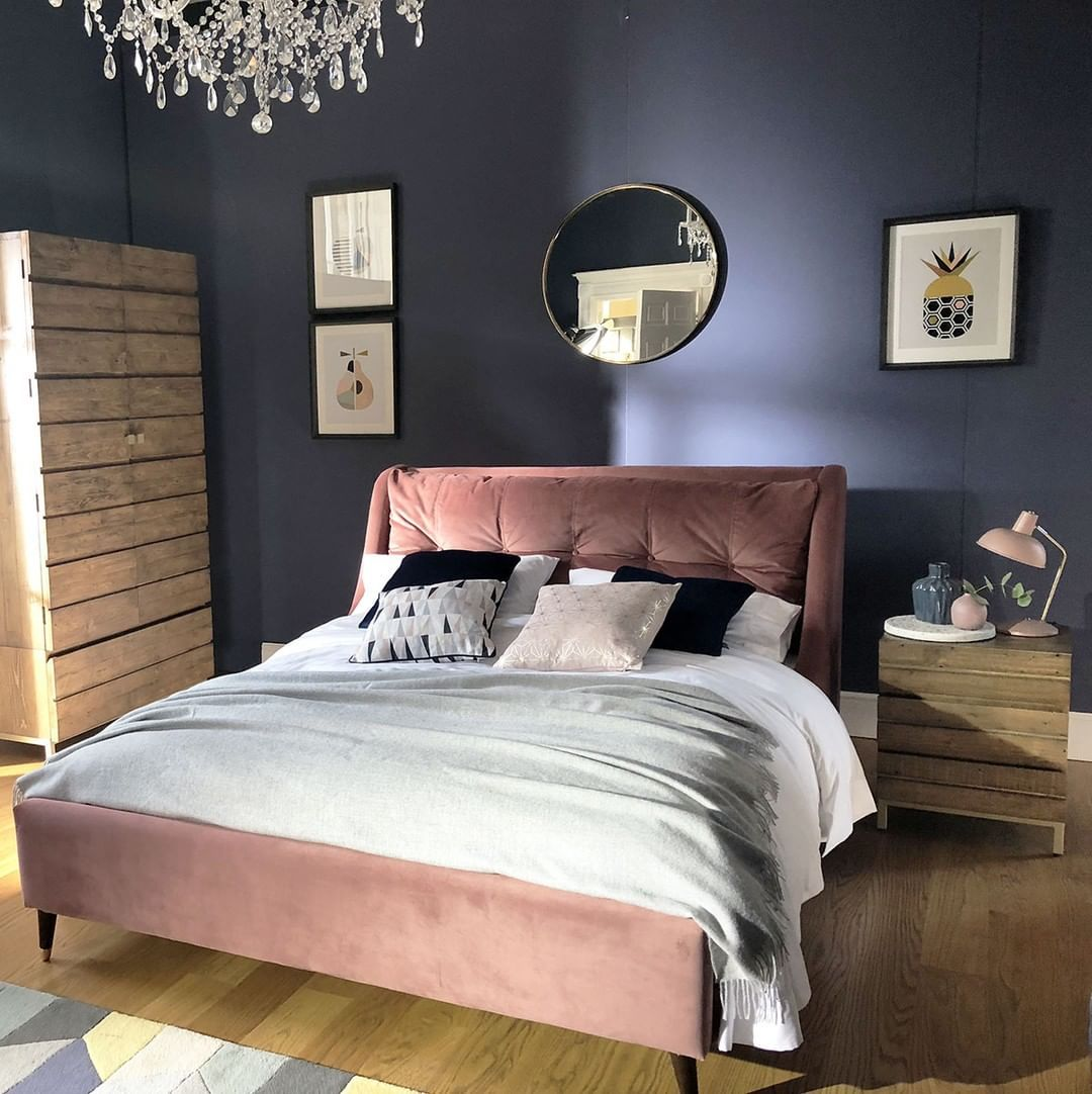 Make Monday Morning A Little Brighter With The Raul Bed Frame In
