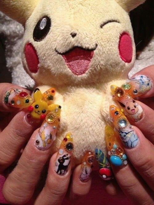 Pokémon Nails ♡♡♡