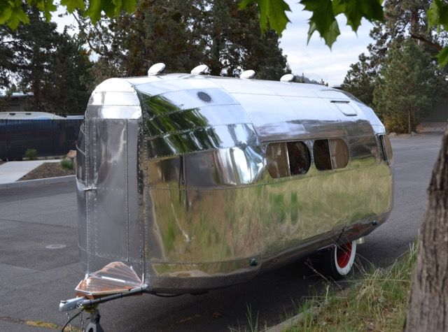 Brilliant 1936 Bowlus Road Chief Vintage Travel Trailer Restoration Download Free Architecture Designs Estepponolmadebymaigaardcom