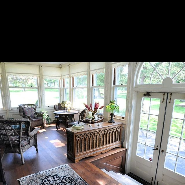Family Room Additions: Three Season Room-could Open Out To A Deck.