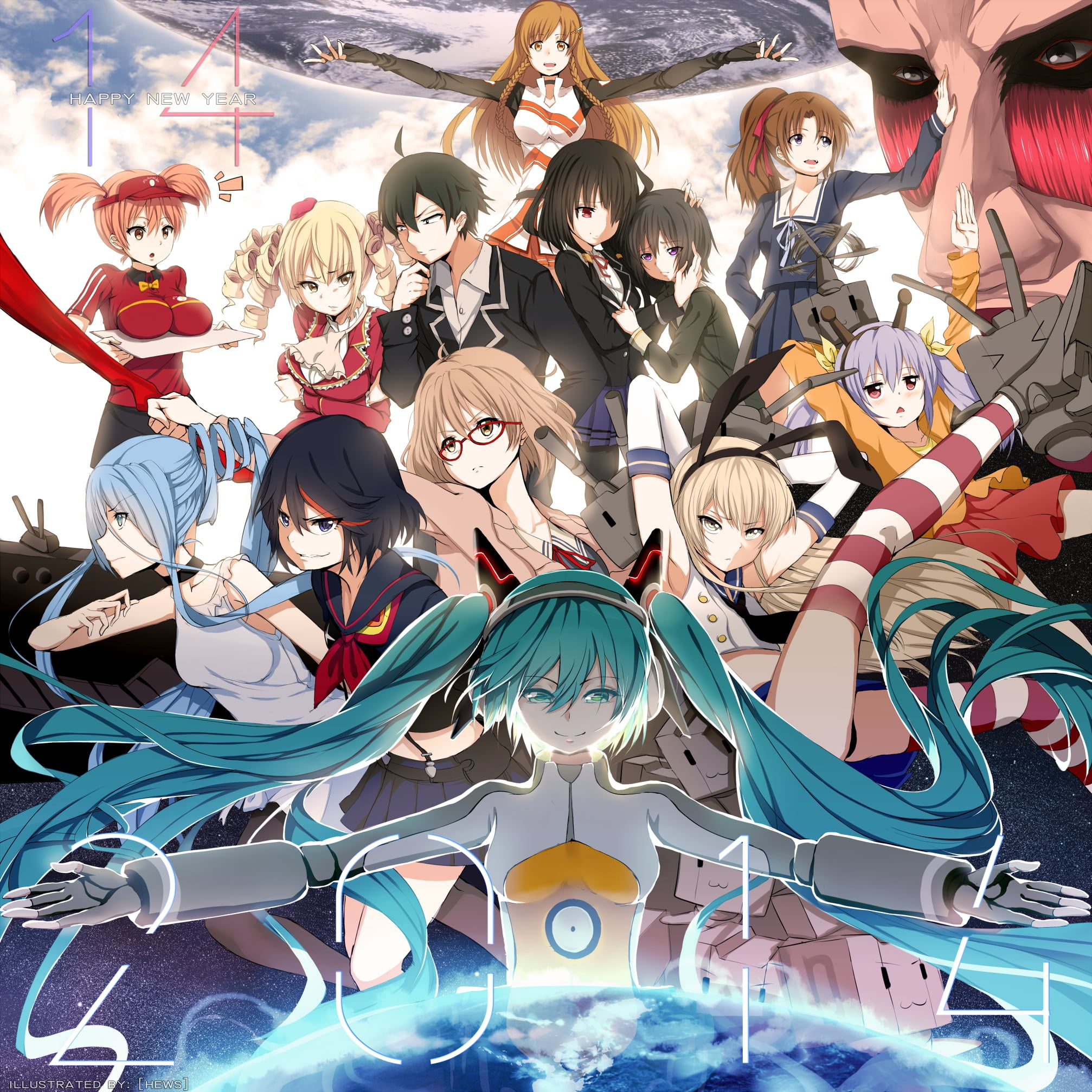 Female Anime Characters Digital Wallpaper Kill La Kill Kyoukai No