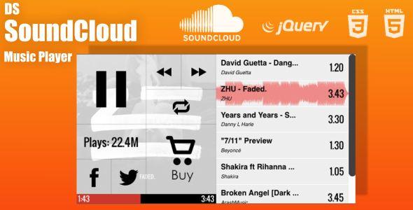 DS SoundCloud Custom Music Player | Code Script | Music