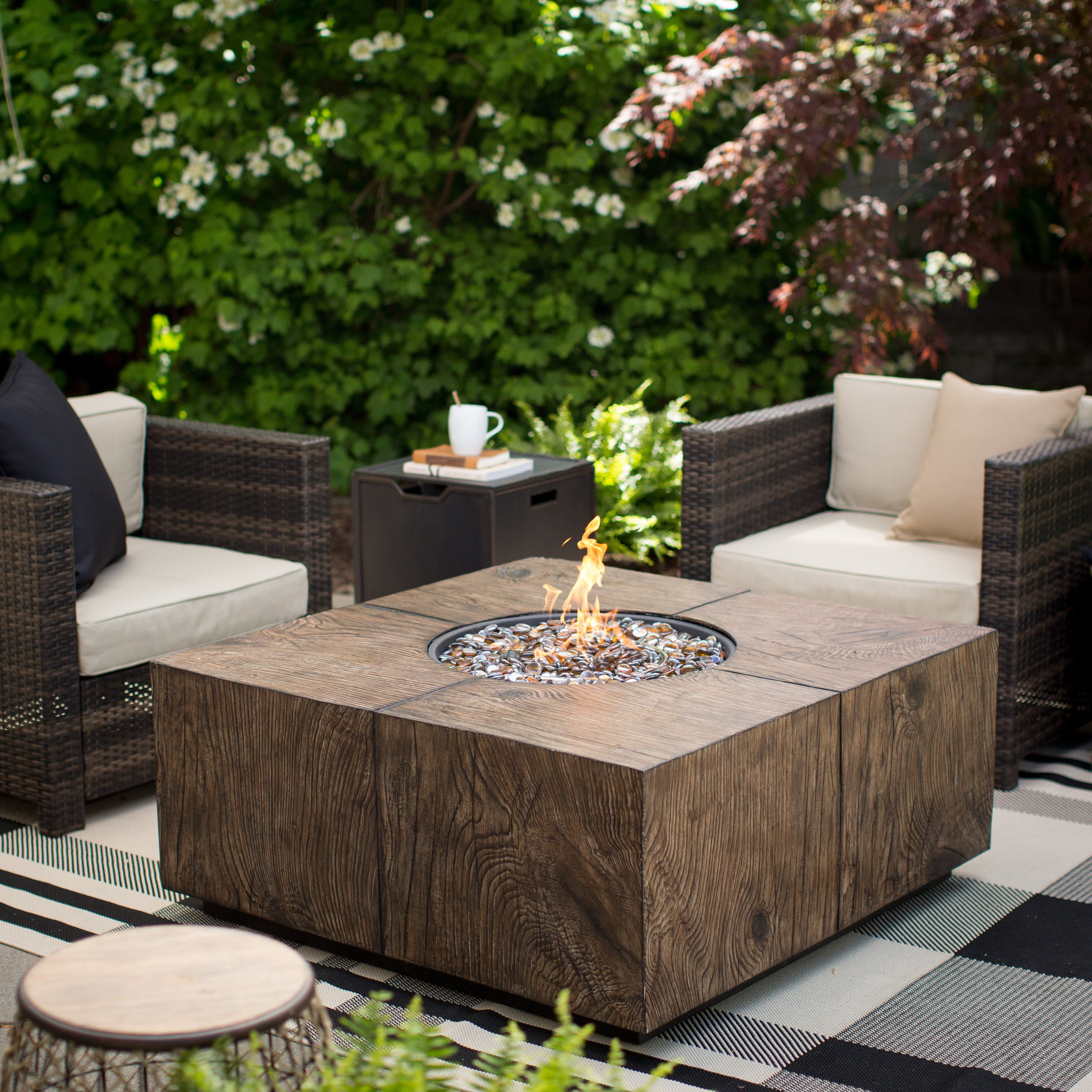 red ember stockton fire pit from hayneedle com patio furnitures
