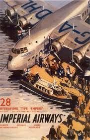 flying boat over egypt travel posters - Google Search